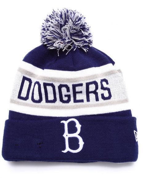 New Era Men Brooklyn Dodgers Biggest Fan Redux Knit Hat Blue