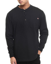 Men - Dickies L/S Heavyweight Henley