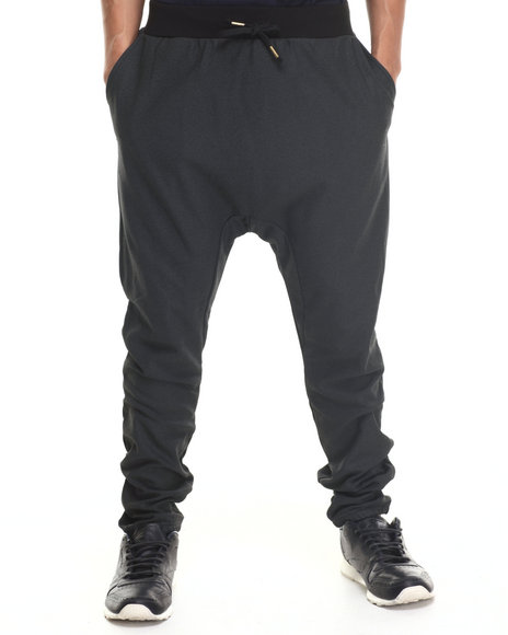 Crooks & Castles - Men Black Lavish Sweatpant