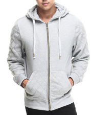 Men - Columbus Quilted Full Zip Hoody