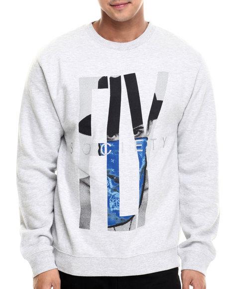 Flysociety - Men Grey Outlaw Sweatshirt