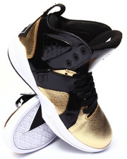 Supra - Magazine Gold Tumbled Leather Sneakers
