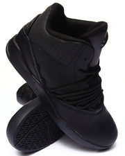 Supra - Estaban Black Leather Sneakers