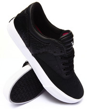 Men - Griffin Black Suede/Leather Sneakers