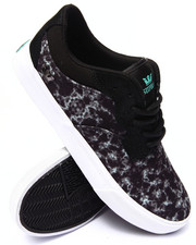 Men - Axle Black Water Camo Sublimated Suede Sneakers