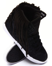 Supra - Skytop Pony Hair Sneaker w/ Suede Fringe