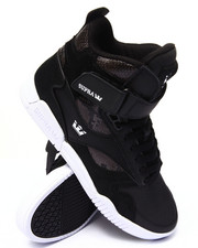 Footwear - Bleeker Black Leather/Suede Sneakers