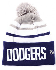 Men - Los Angeles Dodgers Felt Stripe knit hat