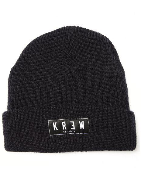 Kr3w Men Cuff Beanie Navy