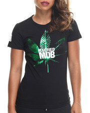 Married to the Mob - Kush Logo Tee