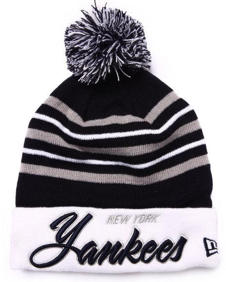 New Era Men New York Yankees Snowburst Knit Hat Multi