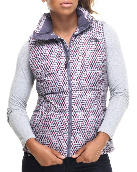 The North Face - Women Purple Nuptse Ii Vest