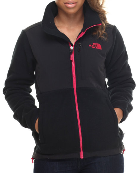 The North Face - Women Black,Pink Denali Jacket