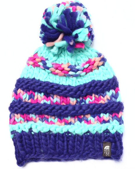 The North Face Women's Nanny Knit Beanie Blue