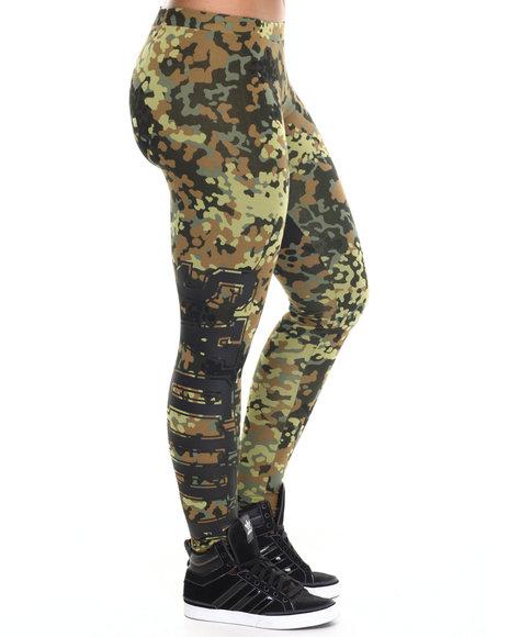 Adidas - Women Camo Camo Leggings - $35.00