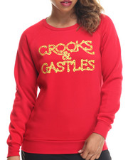 Crooks & Castles - Chaining Day Crew Neck Sweatshirt