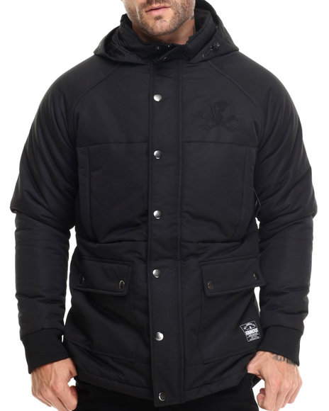 Famous Stars & Straps - Men Black Blackout Jacket