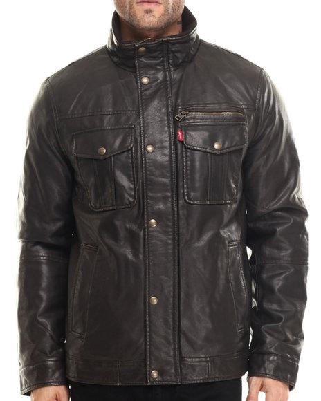 Levi's - Men Brown Kelly Classic Full Zip Jacket