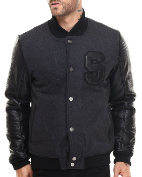 Wool Varsity Jackets for Men