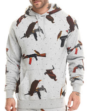 Crooks & Castles - Birdtrap Hooded Pullover