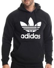 Adidas - Raglan Trefoil Pullover Hoodie