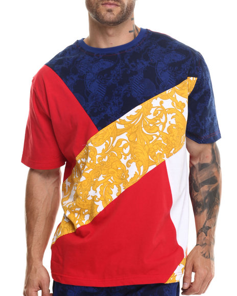 Eight 732 - Men Red Royal Lux T-Shirt