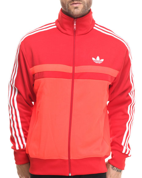 Adidas - Men Red Adi Icon Track Jacket