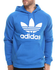 Men - Raglan Trefoil Pullover Hoodie