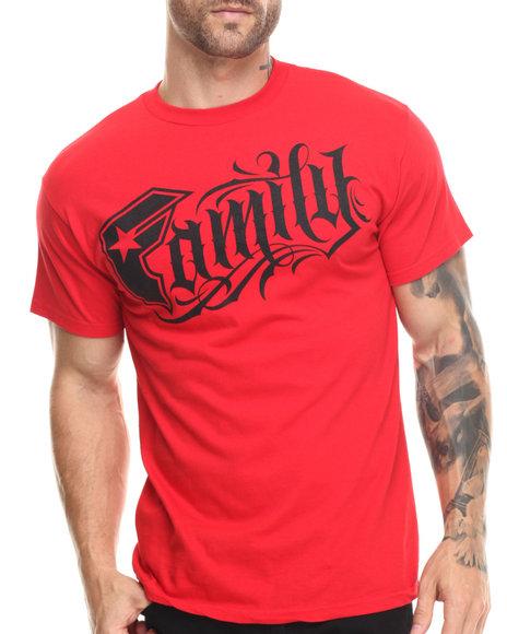Famous Stars & Straps - Men Red Kinship Family Tee - $22.00
