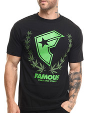 Famous Stars & Straps - Weed Wreath Tee
