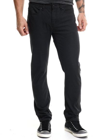 Kr3w - Men Grey K Slim Cavalry Carbon Twill Pants
