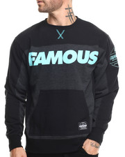 Men - Famous Burnout Crewneck Sweatshirt