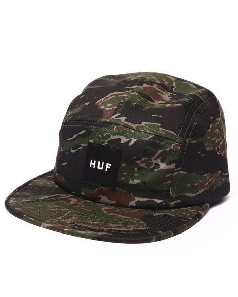 Huf Men Tiger Camo Volley 5-Panel Cap Camo