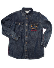 Boys - DENIM SHIRT (8-20)