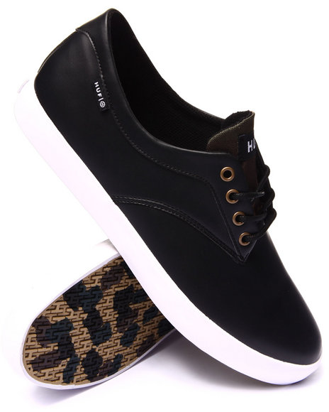 Huf - Men Black,Camo Sutter Sneakers