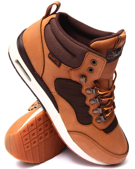 Huf - Men Brown Hr-1 Leather/Heavy Canvas Boots