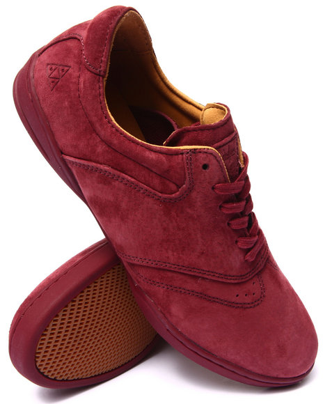 Huf - Men Maroon Dylan Sneakers
