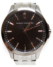 Armani Jeans - A|X Men's Gunmetal Ion-Plated Stainless Steel Bracelet Watch 45mm AX2143