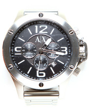 Accessories - A|X Men's Chronograph Stainless Steel Bracelet Watch 48mm AX1501