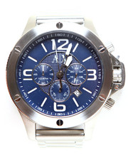 Accessories - A|X Men's Chronograph Stainless Steel Bracelet Watch 48mm AX1512