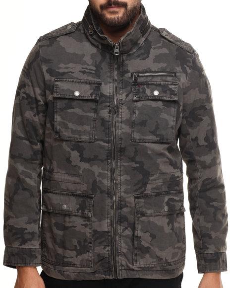 stephen twill camoflouge jacket