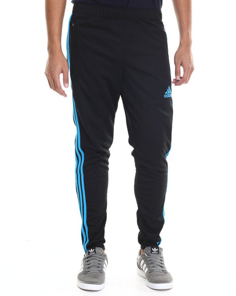 Adidas - Men Black,Blue Tiro 13 Training Pants