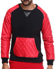 Men - Melrose Kangaroo Pocket Pullover Sweatshirt