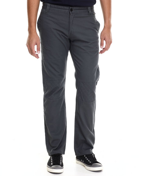 Akademiks - Men Grey Harley Quilted Twill Pants - $20.99
