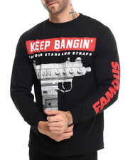 Famous Stars & Straps - Keep Bangin Long Sleeve Tee