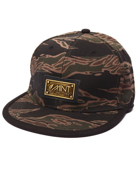 Mint Men Jungle Strapback Hat Camo