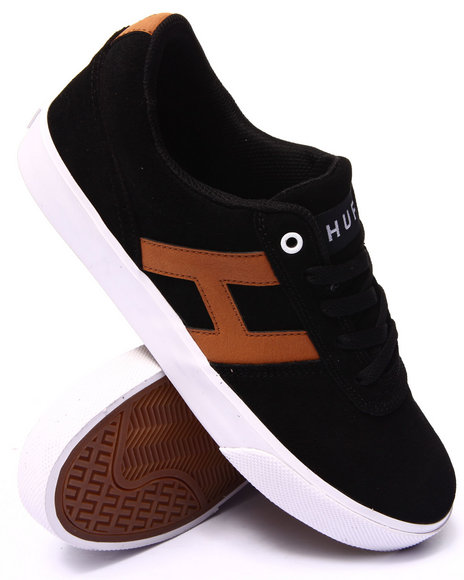 Huf - Men Black,Tan Choice Sneakers