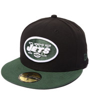 New Era - New York Jets NFL league basic Black 5950 fitted hat