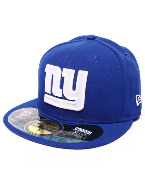 New Era - Men Blue New York Giants Nfl Sideline 5950 Fitted Hat