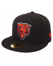New Era - Chicago Bears NFL league basic Black 5950 fitted hat